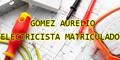Gomez Aurelio - Electricista Matriculado