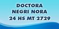 24 Hs - Doctora Negri Nora - Mt 2729