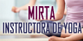 Mirta - Instructora de Yoga
