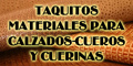 Taquitos - Materiales para Calzados - Cueros y Cuerinas