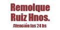 Remolques Ruiz Hnos - Atencion las 24 Hs
