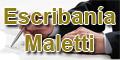 Escribania Maletti