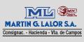 Martin G Lalor SA