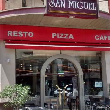 San Miguel - Pizza Cafe