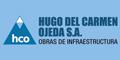 Hugo del Carmen Ojeda SA Obras de Infraestructura