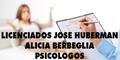 Licenciados Jose Huberman - Alicia Berbeglia - Psicologos