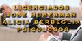 Licenciados - Jose Huberman - Alicia Berbeglia - Psicologos