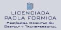 Licenciada Paola Formica Psicologa Orientacion Gestalt y Transpersonal