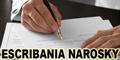 Escribania Narosky