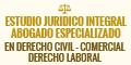 Estudio Juridico Integral - Abogado Especializado en Derecho Civil - Comercial - Derecho Laboral