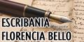 Escribania Florencia Bello