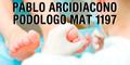 Pablo Arcidiacono Podologo - Mat 1197
