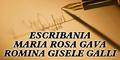 Escribania Maria Rosa Gava - Romina Gisele Galli