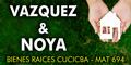 Vazquez & Noya - Bienes Raices Cucicba - Mat 694