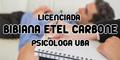 Licenciada Bibiana Etel Carbone - Psicologa UBA