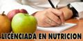 Licenciada en Nutricion