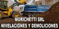 Morichetti SRL - Nivelaciones y Demoliciones