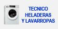 Tecnico Heladeras y Lavarropas
