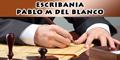 Escribania - Pablo M del Blanco