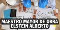 Maestro Mayor de Obra Elstein Alberto