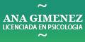 Licenciada en Psicologia Ana Gimenez