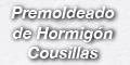 Premoldeado de Hormigon Cousillas