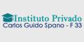 Instituto Privado Carlos Guido Spano - F 33