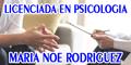 Licenciada en Psicologia Maria Noe Rodriguez