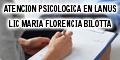 Atencion Psicologica en Lanus - Lic Maria Florencia Bilotta