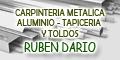 Carpinteria Metalica - Aluminio - Tapiceria y Toldos Ruben Dario