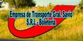 Transporte Gral Savio SRL