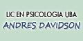 Lic en Psicologia UBA Andres Davidson