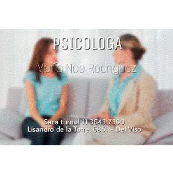 Lic en Psicologia Maria Noe Rodriguez - UBA - Imagen 1 - Visitanos!