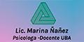 Licenciada Marina Ñañez Psicologa